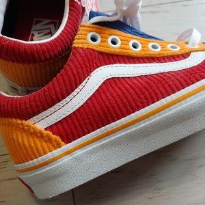 VANS corduroy old skool skate shoes